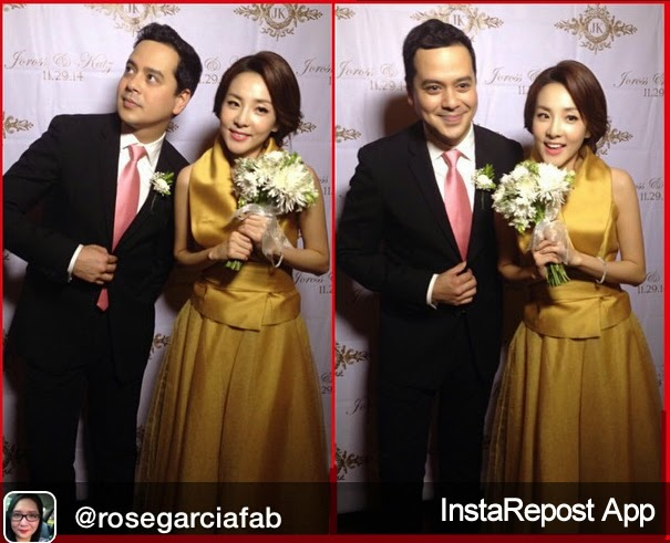 John Lloyd Cruz and Sandara Park make wacky shots together
