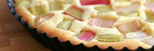 Finnischer Rhabarberkuchen