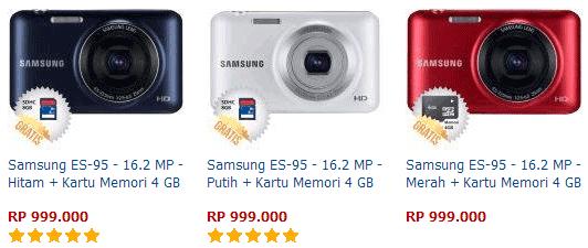 Harga Kamera Samsung ES-95