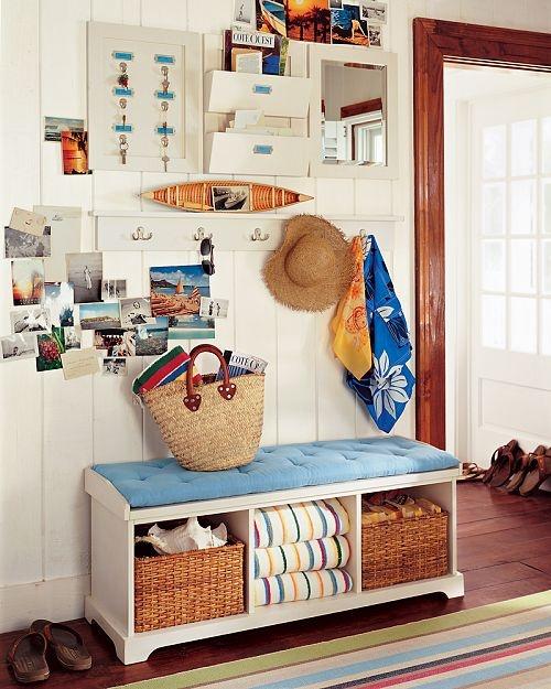 decoracao de apartamentos pequenos de praia : decoracao de apartamentos pequenos de praia:Casa – Decoração – Reciclados: Inspiração no Mar – Casa de Praia!