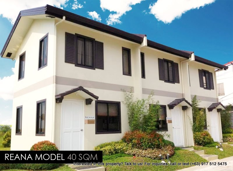 Reana model house camella