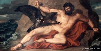 Prometeu castigado por Zeus