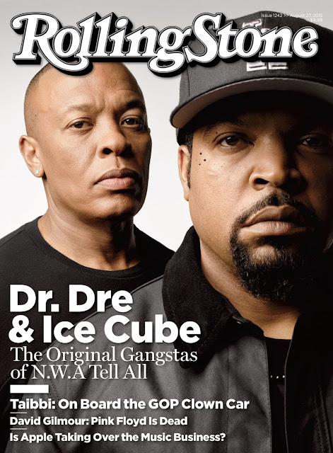 Dr. Dre & Ice Cube Cover Rollingstone Magazine