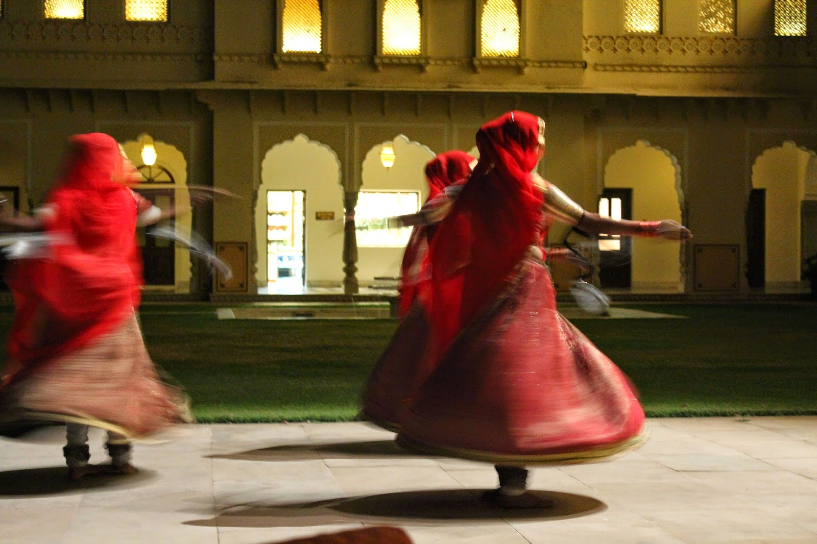 Dancers at Rambagh Palace Jaipur