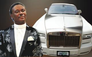 Pastor Chris Okotie Rolls-Royce