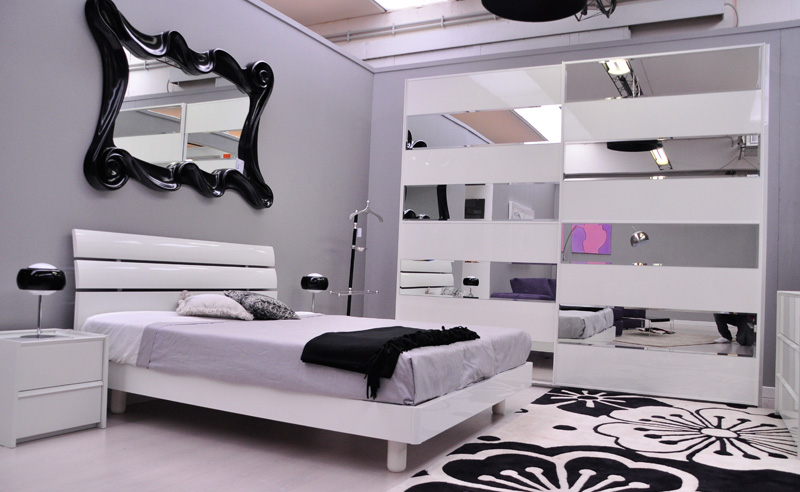 Chambre Mauve Et Noir  Ma chambre en noir et blanc IDÉE DÉCO
