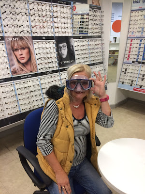 prescription diving mask made by Boots Opticians