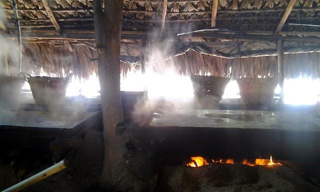 Pasuquin Salt-making Ilocos Norte