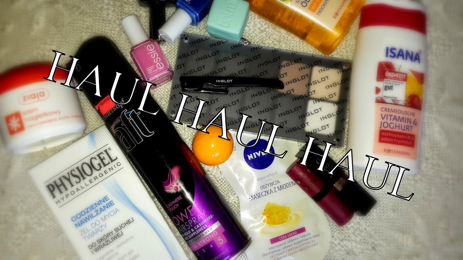 Nowości w mojej kosmetyczce i nie tylko! | HAUL