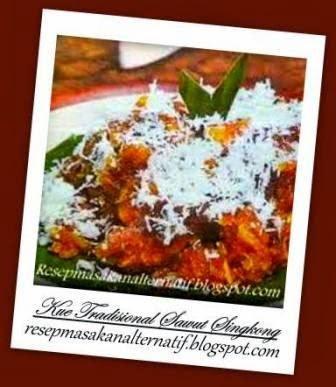 Resep dan Cara Membuat Kue Tradisional Sawut Singkong