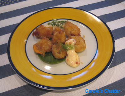 Carole's Chatter: Crumbed Scallops with sweet chili mayo