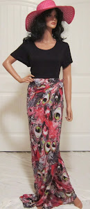 Ladies Long Wrap Skirt or Beach Sarong