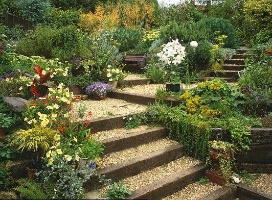 El maestro de obras xavier valderas la construccion de for Caminos de piedra en el jardin