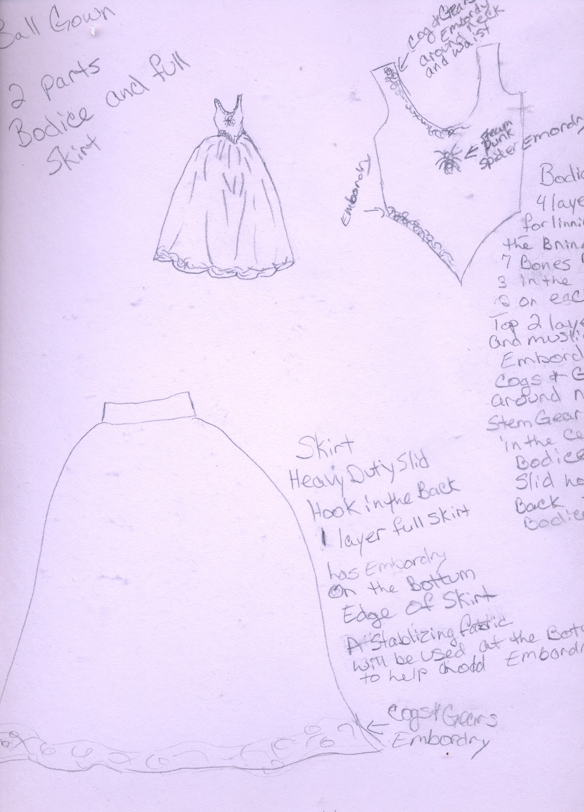 The Sacred Oak News Letter: Steampunk Victorian Goth Ball Gown