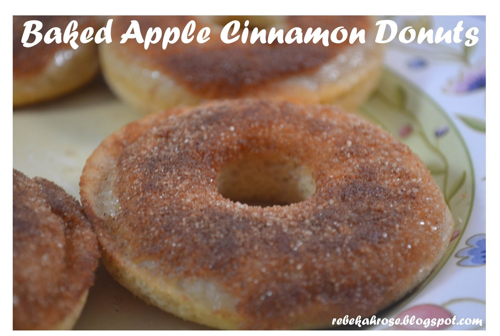 Making Miracles: Baked Apple Cinnamon Donuts