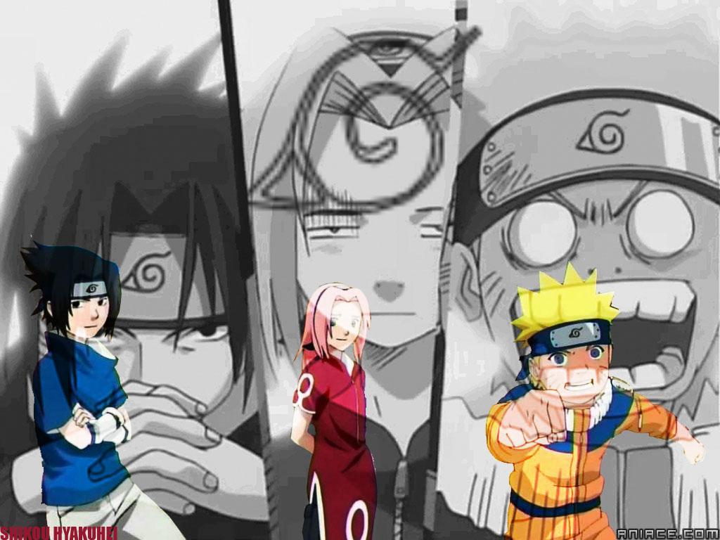 Team kakashi naruto sasuke sakura