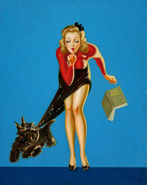 vintage pulp illustration
