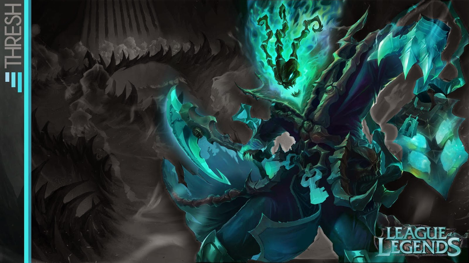 thresh league of legends wallpaper thresh desktop wallpaper