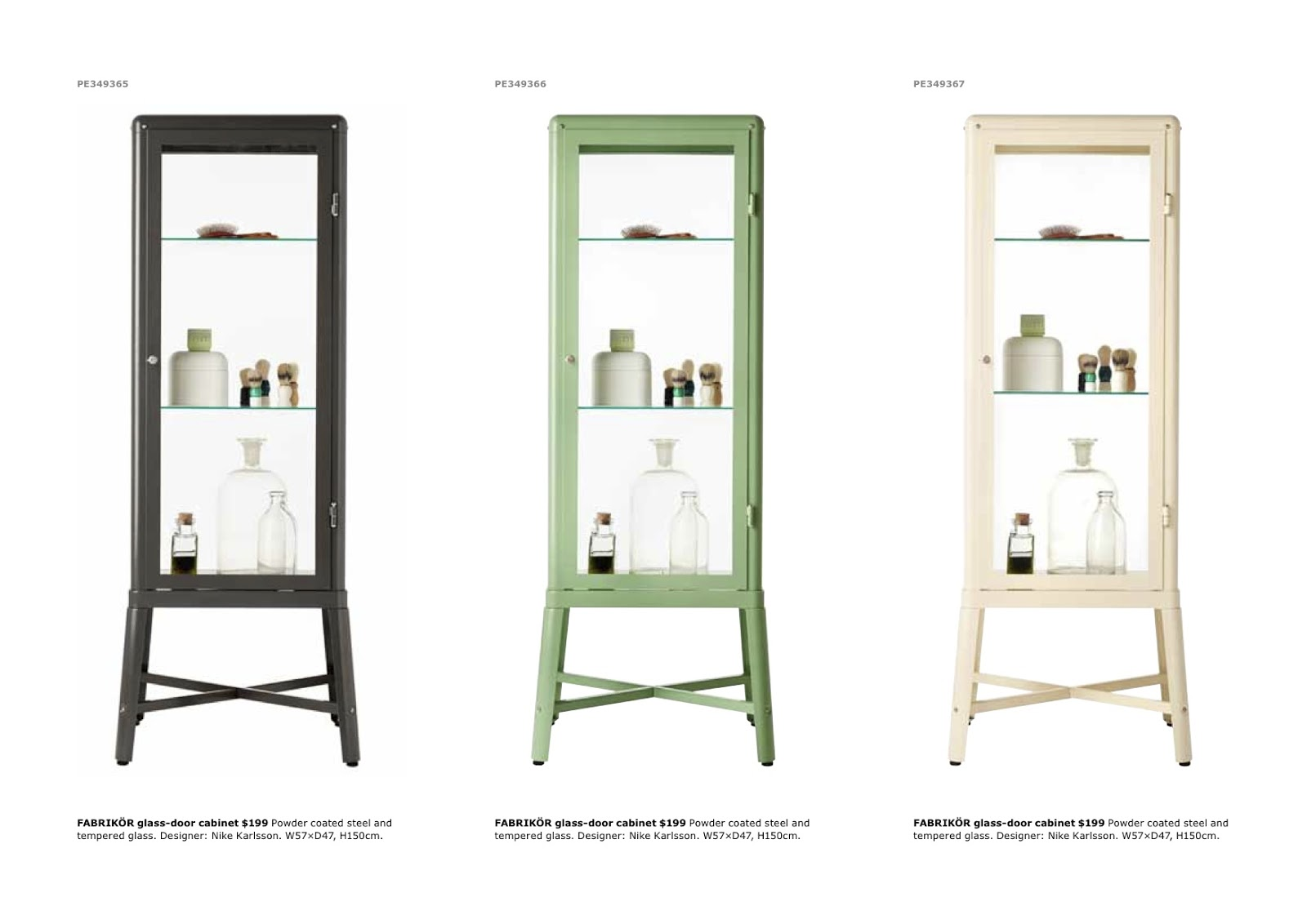 Paper parade co bathroom nook - Vitrine en verre ikea ...