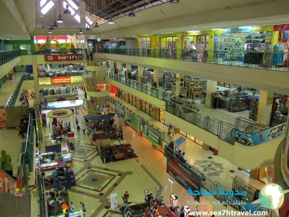 اسواق مدينة ماترام الاندونيسية