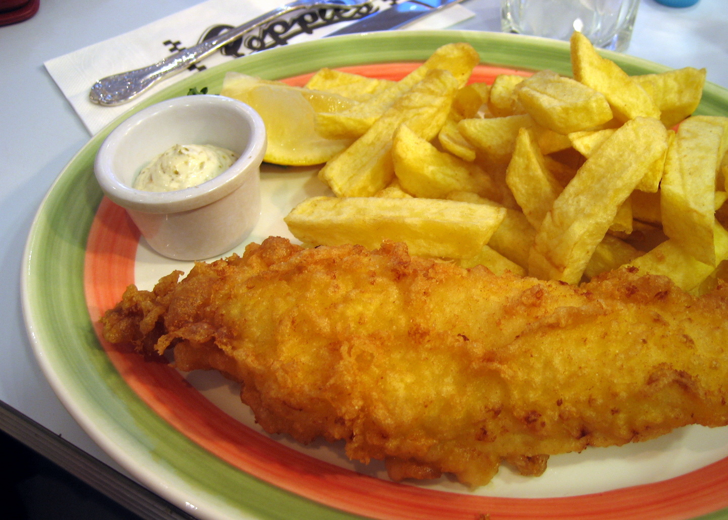 Pebble soup poppies fish chips restaurant review for Fish chips restaurant