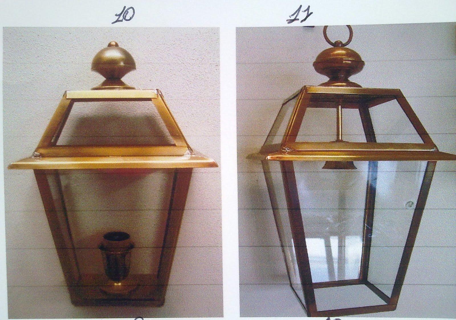 Lanterne da esterno ferro battuto lampioncini da esterno in ferro