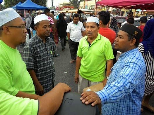 Agihan di Bazar Ramadhan