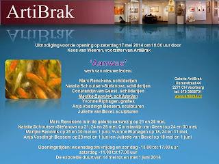 expositie Nieuwe Leden in Artibrak Voorburg