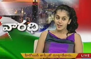 Taapsi in Varadi Live Show