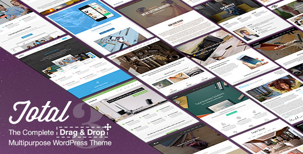 Free Download Total V3.0.6 Responsive Multi-Purpose WordPress Theme