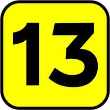 13 (Tiga Belas) Baris