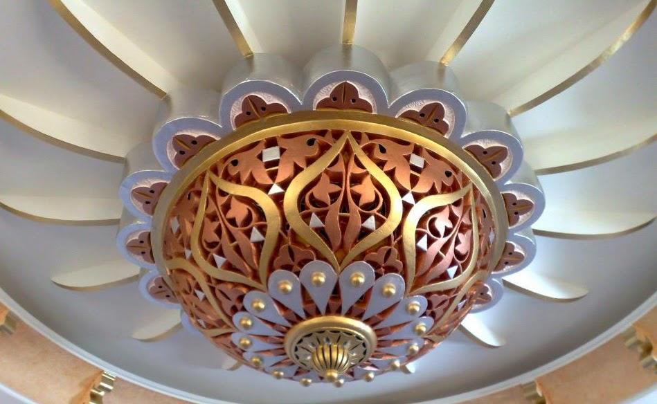 Le journal d 39 artisanat marocain plafond en platre for Plafond en platre marocain