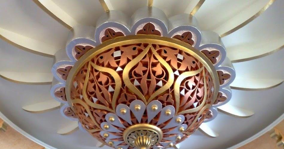 Le journal d 39 artisanat marocain plafond en platre for Difference design et artisanat