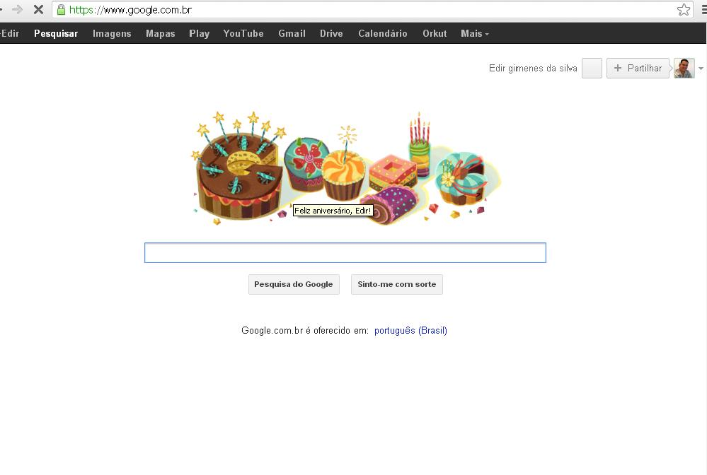 Doodle da Google, homenagens que não param, chegam também aos usuários Google. 3