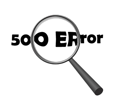 500 error interno: