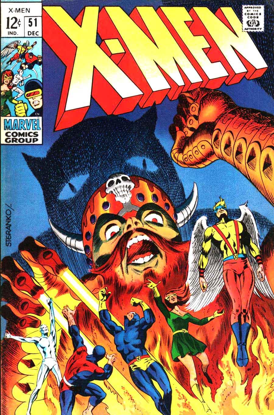 Marvel Comic Book Cover Art : X men jim steranko art cover pencil ink