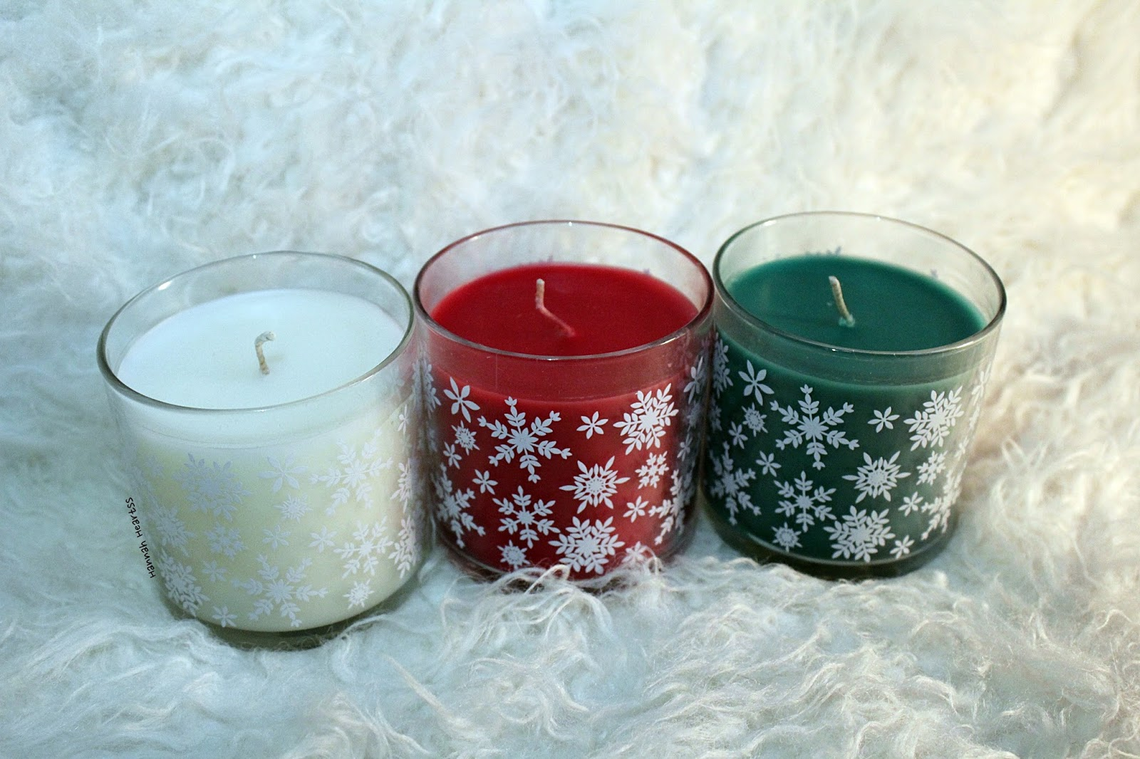 Partylite Christmas Candles (+Giveaway)
