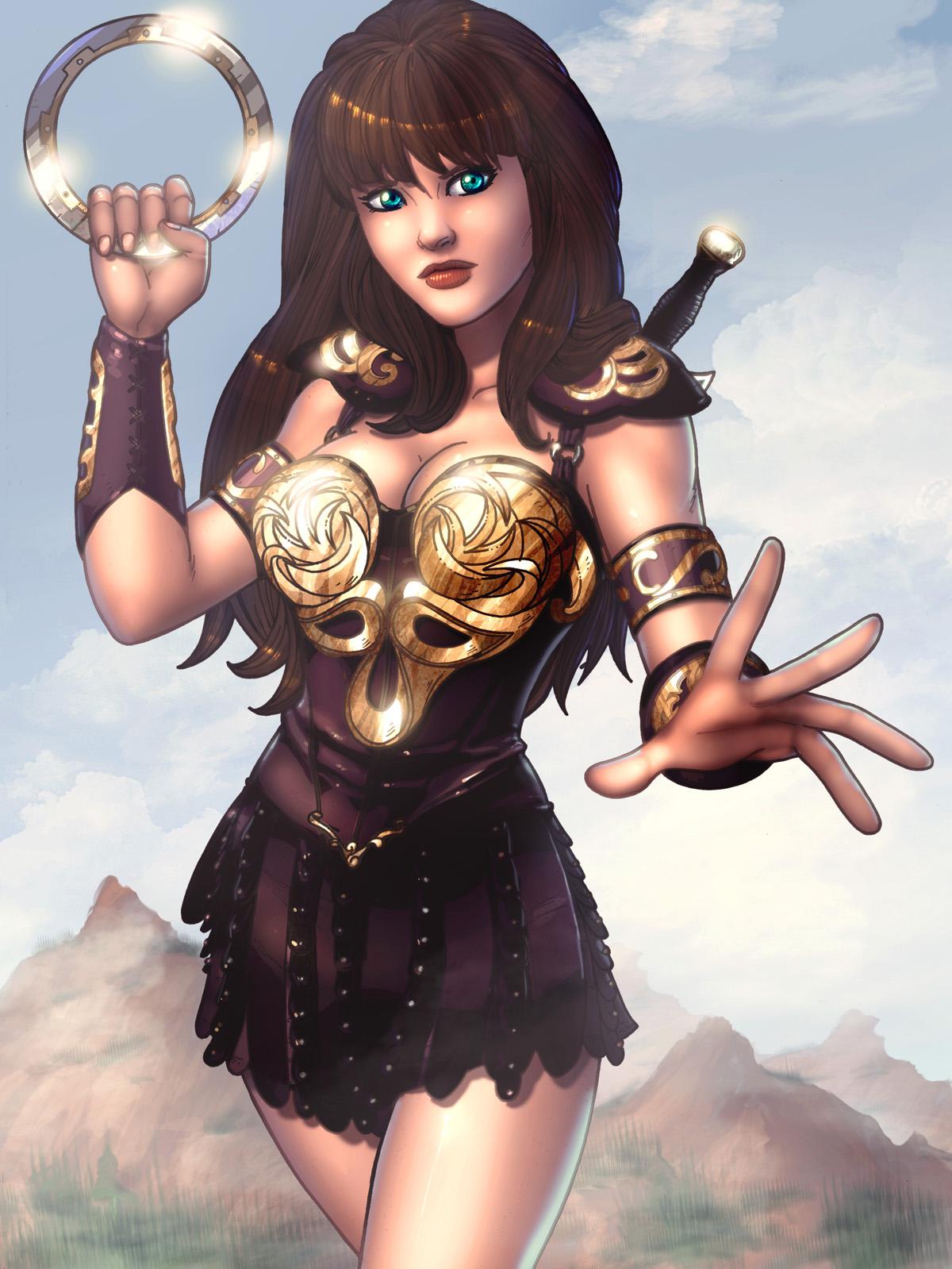 Mundo Paralelo: Xena, A Princesa Guerreira!