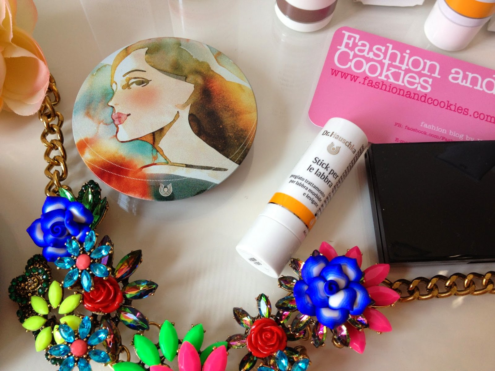 Dr Hauschka, terra abbronzante limited edition, stick labbra protettivo, bronzing powder, Fashion and Cookies, fashion blogger