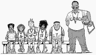 Οι αθλητές των παμπαίδων για το All Star της Κυριακής στην Γλυφάδα (προπόνηση το Σάββατο )