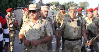 تعرض سيارة اللواء أركان حرب أحمد وصفى، قائد الجيش الثانى الميدانى، لإطلاق نار فى الشيخ زويد بشمال سيناء