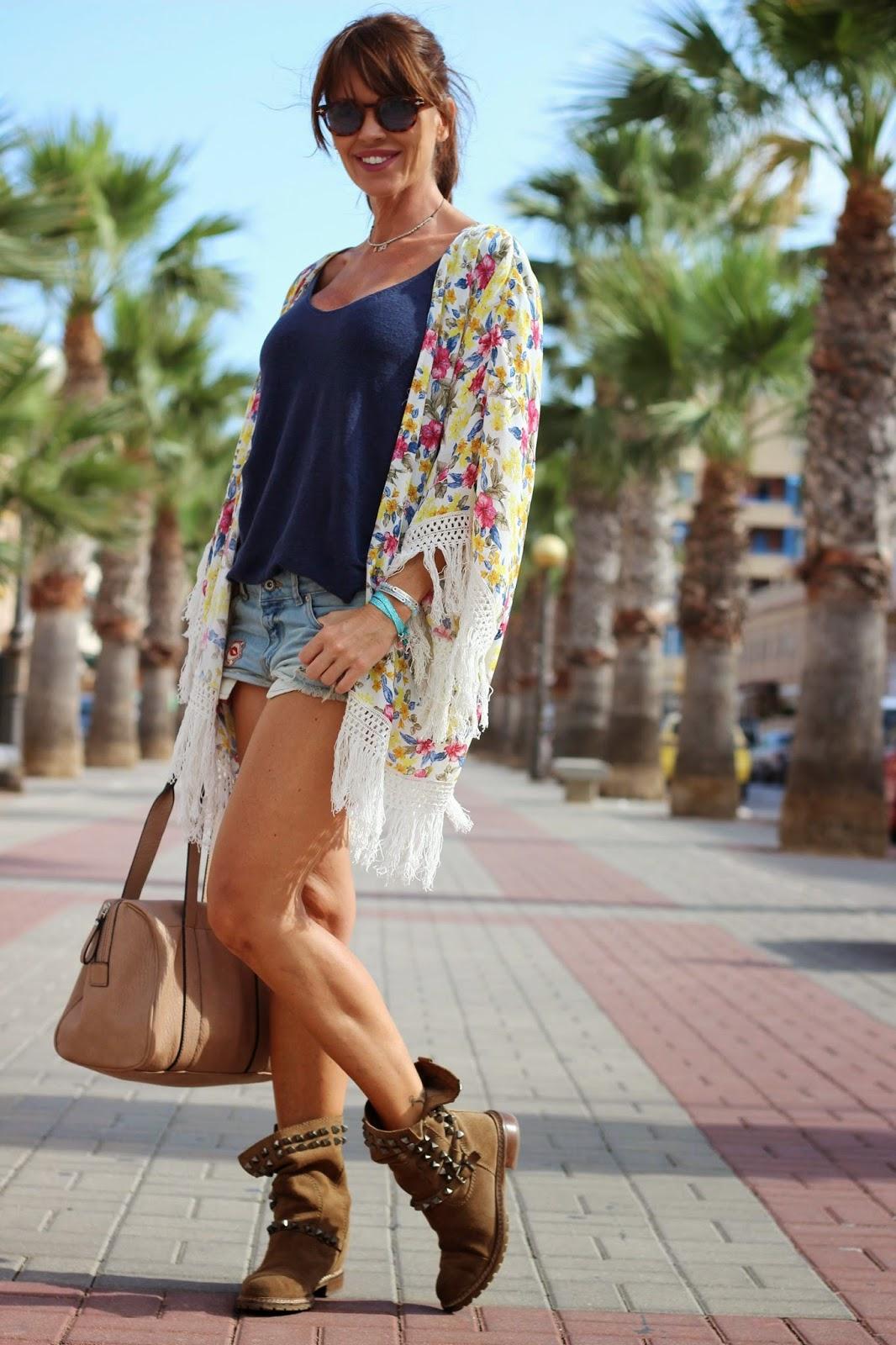 kimono flecos - outfit 2014