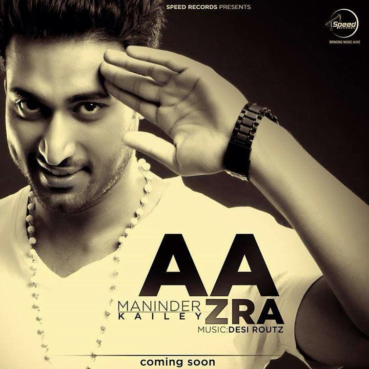 aa zra lyrics hd video  maninder kailey