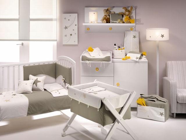 los colores van a determinar mucho la decoracion que podremos valorar segun los muebles y con la ropa de cama y complementos al principio el bebe estar en - Decoracin Habitacin Bebe