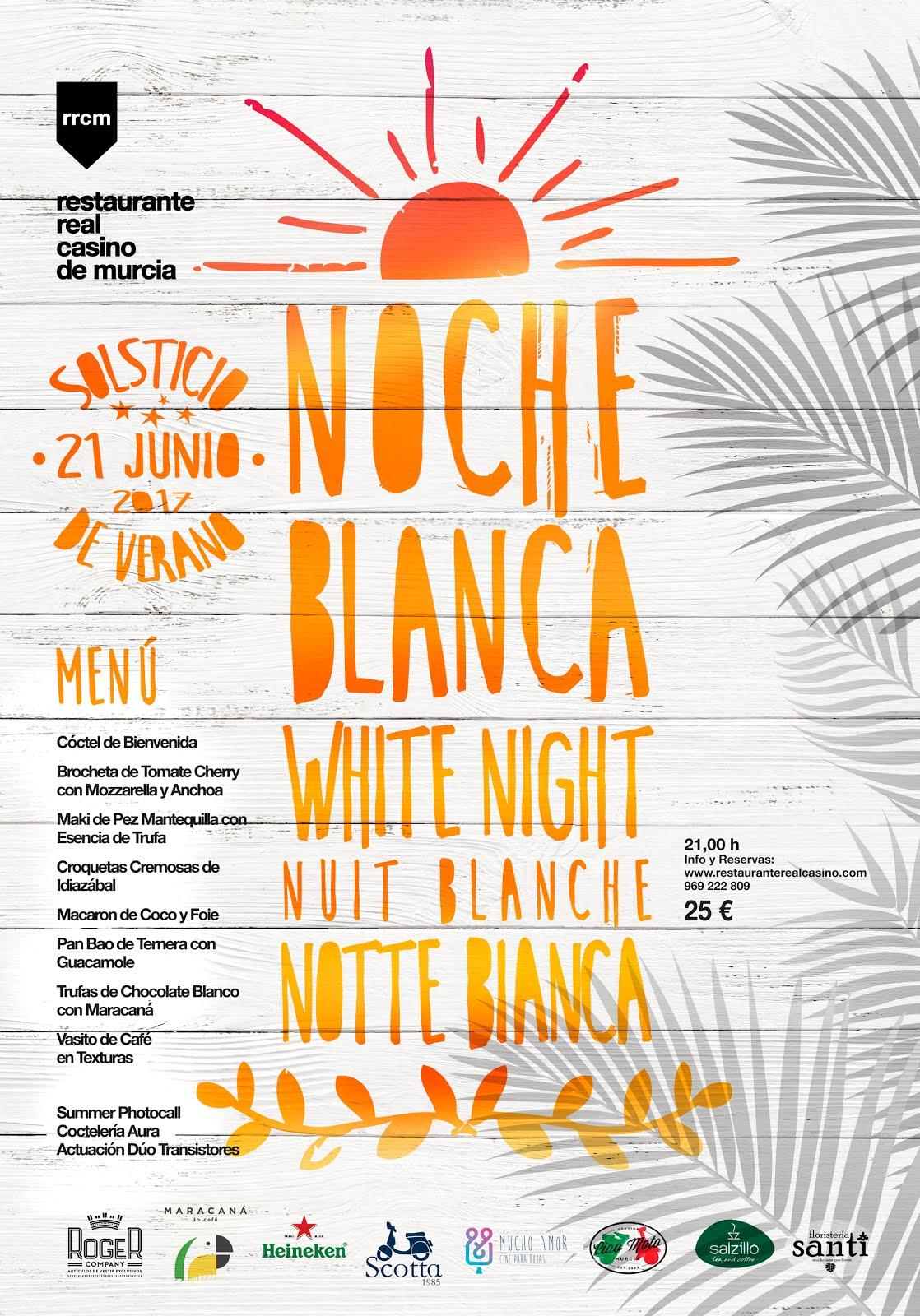 Noche Blanca en el Real Casino de Murcia