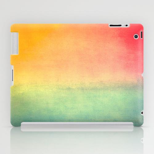 catherine masi ombre watercolor ipad case