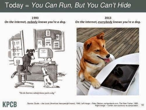 A coleta de dados cada vez mais presente nos serviços que usamos na Internet faz com que seja cada vez mais difícil se esconder. A Internet não é terra de ninguém faz tempo.