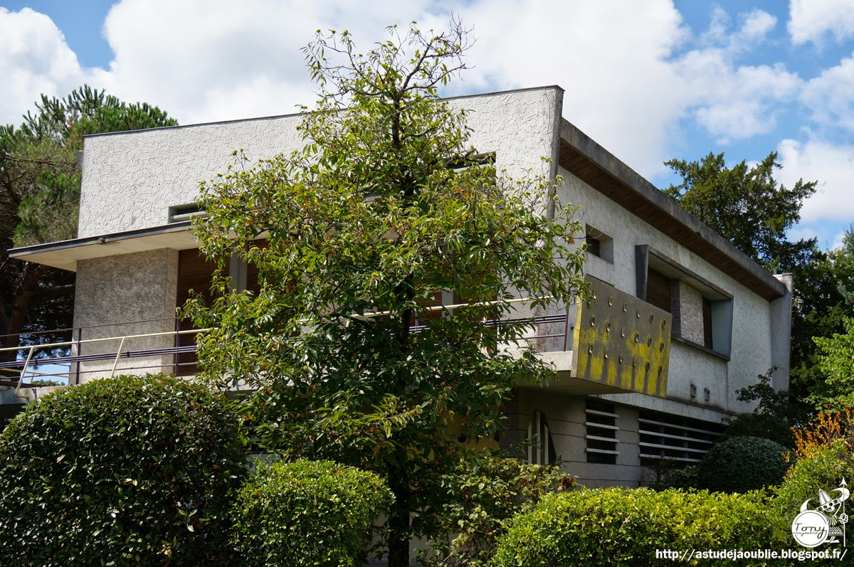 Merignac maison priv e ann es 50 for Architecture annees 50