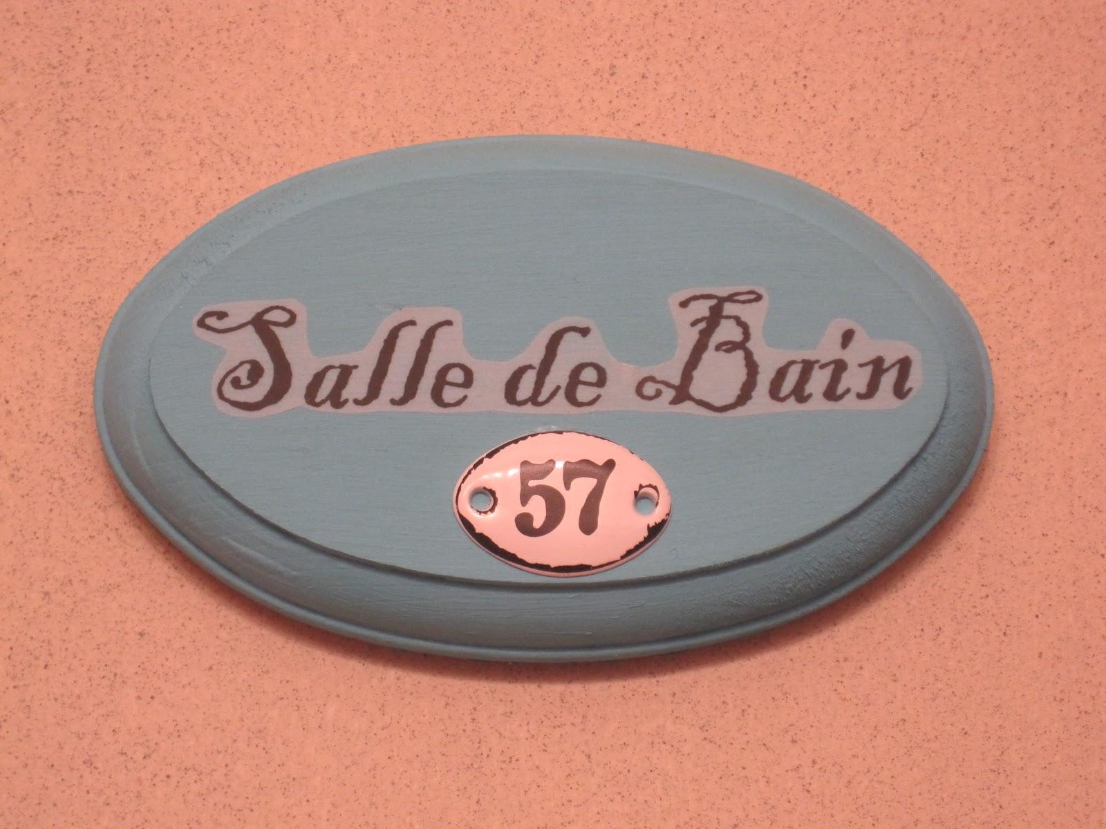 Lambris Pvc Salle De Bain Bricoman ~ Petite Salle De Bain Bathroom Sign Okio B Designs