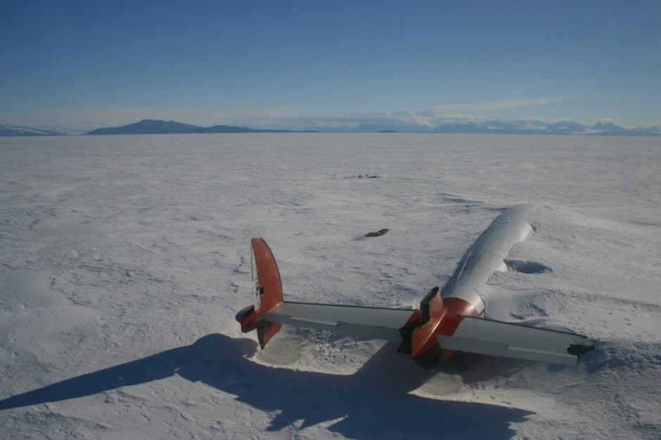 The remains of the Pegasus in McMurdo Sound, Antarctica - 30 Abandoned Places that Look Truly Beautiful